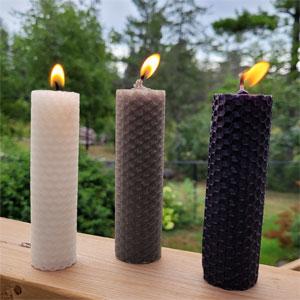 White, Grey, & Black Candles
