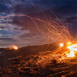 Ancient Belltaine Bonfires