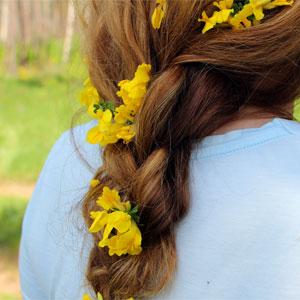Beltane Hair & Dress