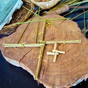 Imbolc Brigid's Cross