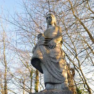 St. Brigid's Statue