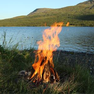 Litha Bonfire