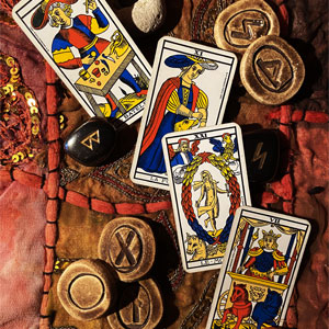 Tarot Cards and Runes