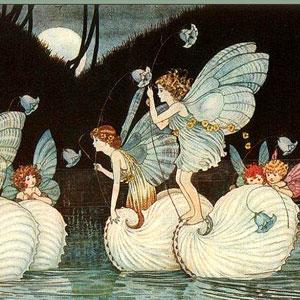 """Fairy Islands"" by Ida Rentoul Outhwaite"