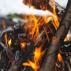 Yule Bonfire