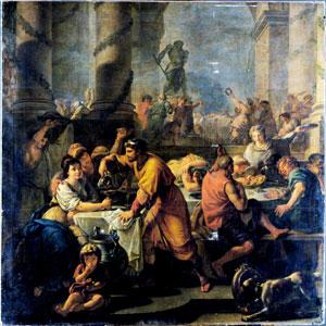 """Saturnalia"" by Antoine-François Callet"