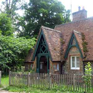 Tudor Cottage in the Countryside